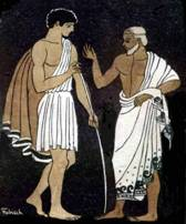 Telemachus and Mentor